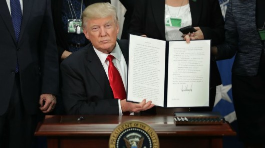 Executive Order Signed