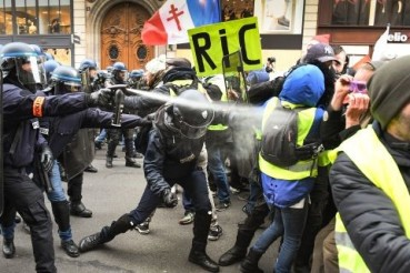 Yellow Jackets Protest in France